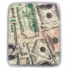 "Многоразовая пеленка ""Доллары"""